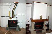 Chaudière de cheminée
