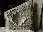 Cupule d'un soffite (musée lapidaire de Mozac - 63)