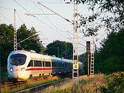 Un ICE-TD triple traction en service spécial de Berlin à Warnemünde