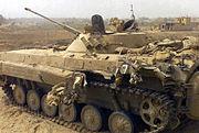 Un BMP-2 irakien endommagé (2003)
