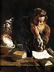 ArchimèdeDomenico Fetti, 1620, Musée Alte Meister, Dresde (Allemagne)