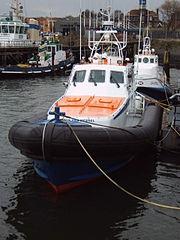 Bateau de sauvetage hollandais