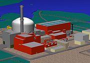 Le même réacteur sous une autre vue