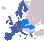 Les pays membres de l'ESA