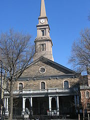 St Mark in the Bovery, New York, 1799