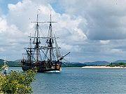 Réplique du Endeavour à Cooktown