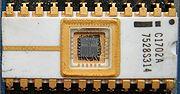 La puce Intel C1702A.