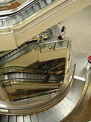 Escaliers roulants au Japon