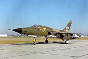 Un F-105G conservé au musée de l'USAF