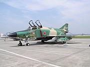 Un F-4 Phantom II de l'armée japonaise modifié pour la reconnaissance photo