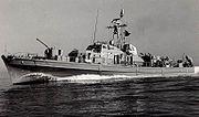 dragueur de mines de la marine allemande en 1972