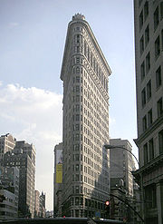 Le Flatiron Building, 1902, New York