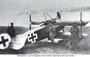 Un Fokker Triplan Dr1 allemand de la Première Guerre Mondiale