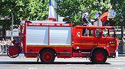 Fourgon d'incendie français