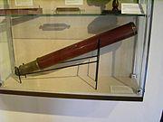 Télescope Dollond exposé à Göttingen, Allemagne