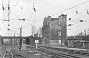 La gare de Bobigny en 1984