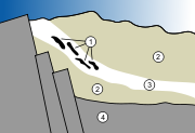 Structure g�ologique du site