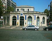 La station de Courcelles-Levallois (aujourd'hui desservie par le RER C)