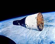 Gemini 7 vue de Gemini 6
