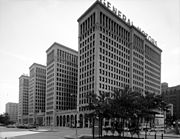Albert Kahn, General Motors Building, Detroit, Michigan, style international