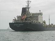 Embarcation de sauvetage du Georgy Ushakov