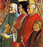 Pucci, Laurent de Médicis, et Sassetti.