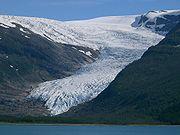 L'Engabreen en Norvège