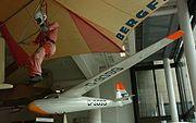 L'un des premiers planeurs de Schleicher, le Ka6 (1958)