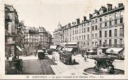 Les tramways, Place Grenette