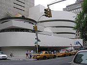 Le musée Guggenheim à New York, dessiné par Wright