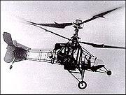 Le Gyroplane-laboratoire, à deux rotors superposés.