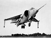 Le Hawker P1127, prototype du Harrier