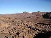Hoggar, Sahara. Un milieu abiotique