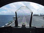HUD d'un F/A-18C du VFA-151