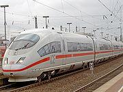ICE-3 entrant en gare de Dortmund