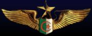 Insigne officiel du Commandement des Forces a�riennes d'Alg�rie
