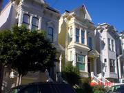 Maisons victoriennes à San Francisco, style italianisant, fin du XIXesiècle