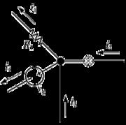 Schéma d'un montage électrique illustrant la loi des nœuds.