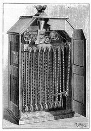 Le kinétoscope d'Edison