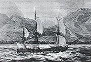 la Boudeuse, de Louis Antoine de Bougainville