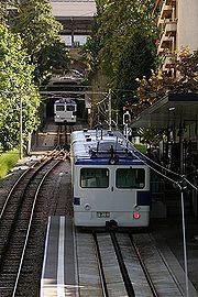 Métro Lausanne-Ouchy