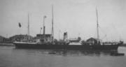 Le Charente au Havre en 1925