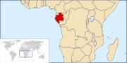 Localisation du Gabon