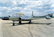 Un T-33 de l'USAF