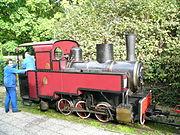 Locomotive Decauville en 2005, au Chemin de fer des Chanteraines