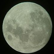 La pleine Lune, le 27 septembre 2004