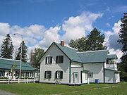 Maison qu�b�coise � Causapscal (Gasp�sie)
