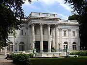 Marble House, résidence des Vanderbilt à Newport, Rhode Island et dessinée par Richard Morris Hunt