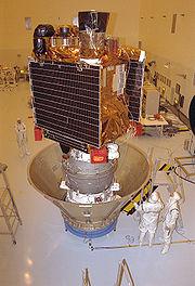 Préparation de la sonde avant son lancement