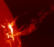 Une �ruption solaire
